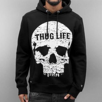 Thug Life Hoodie Thugstyle svart
