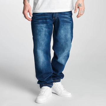 Thug Life Jeans a carota Primorsk blu