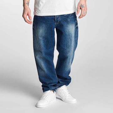 Thug Life Jeans a carota Anadyr blu