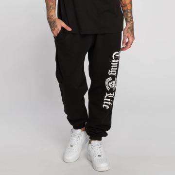 Thug Life Jogginghose B.Gothic p schwarz