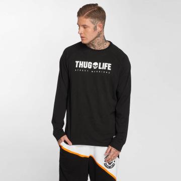 Thug Life Longsleeve Future black