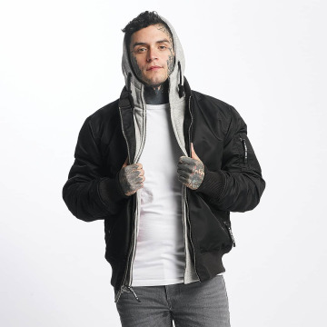 Thug Life Övergångsjackor Manchester Hooded svart