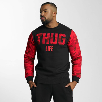Thug Life Pullover Zombi rot