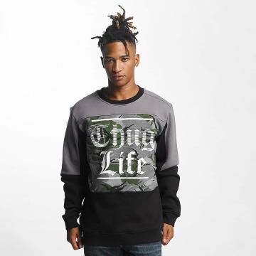 Thug Life Pulóvre New Life èierna