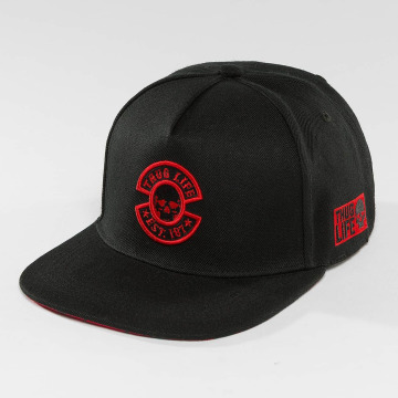 Thug Life Snapback Cap International black