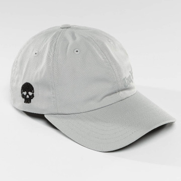 Thug Life Snapback Cap Curved grey