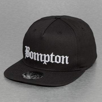 Thug Life Snapback Cap Bompton nero