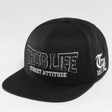 Thug Life snapback cap Attitude zwart