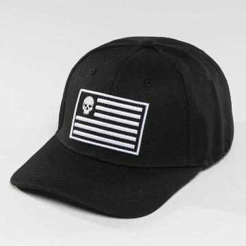 Thug Life snapback cap Flag zwart