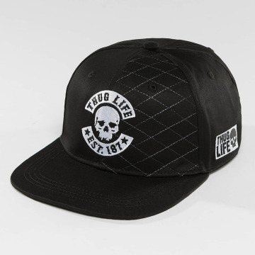 Thug Life snapback cap Whitline zwart