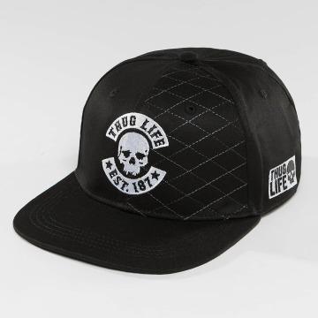 Thug Life Snapback Caps Whitline czarny