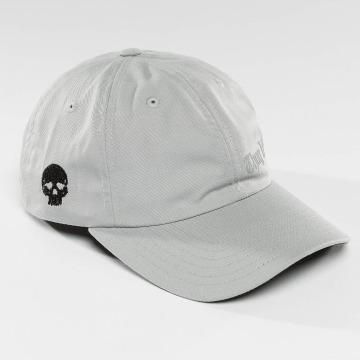 Thug Life Snapback Caps Curved grå