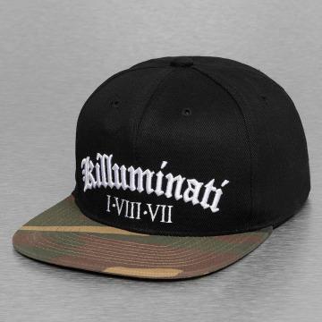 Thug Life Snapback Caps killuminati svart