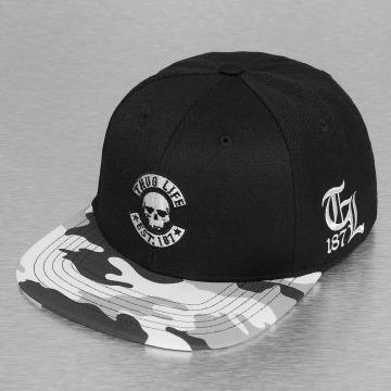 Thug Life Snapback Caps Ragthug svart