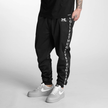 Thug Life Sweat Pant Life Two black