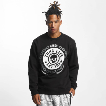 Thug Life Swetry Barley czarny