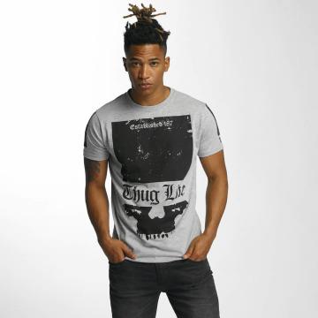 Thug Life T-Shirt Blind grau