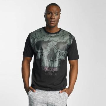 Thug Life T-Shirt Goldteath noir