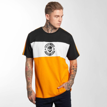 Thug Life t-shirt Life Lion oranje