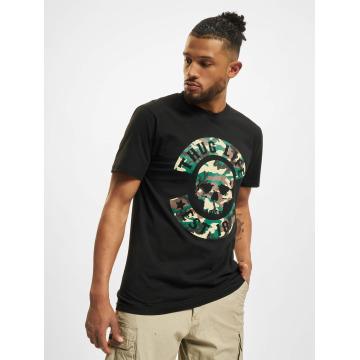 Thug Life T-Shirt B. Camo schwarz