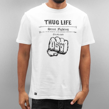 Thug Life T-Shirt Streetfight white