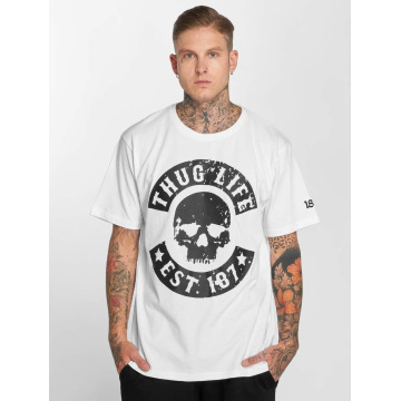Thug Life T-Shirt B. Camo white