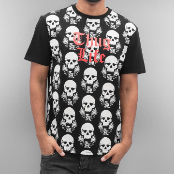 Thug Life t-shirt Icelist zwart