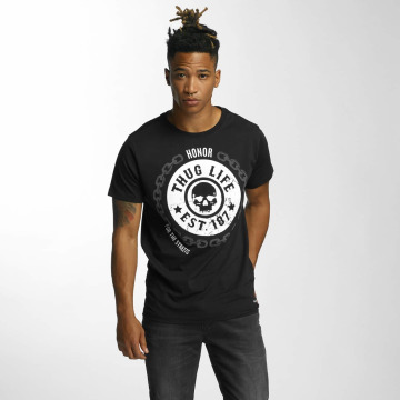 Thug Life t-shirt Barley zwart