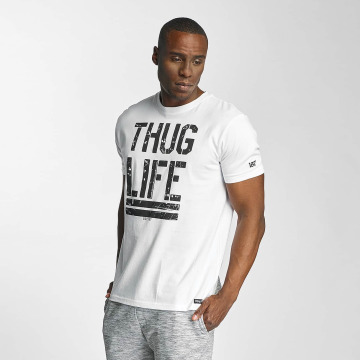 Thug Life T-Shirty Ghost bialy