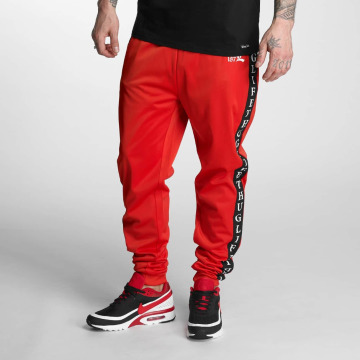 Thug Life Verryttelyhousut Two Stripes punainen