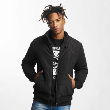 Thug Life Winter Jacket Big Logo black