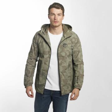 Timberland Демисезонная куртка Lightweight Hooded Shell зеленый