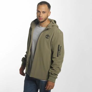 Timberland Демисезонная куртка Hooded Softshell коричневый