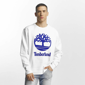 Timberland Пуловер Stacked белый