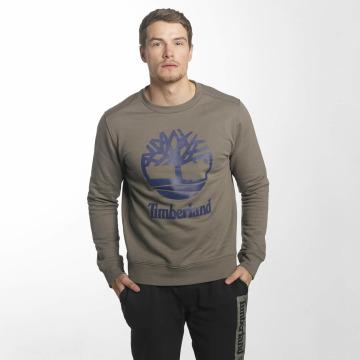 Timberland Пуловер Stacked Logo коричневый