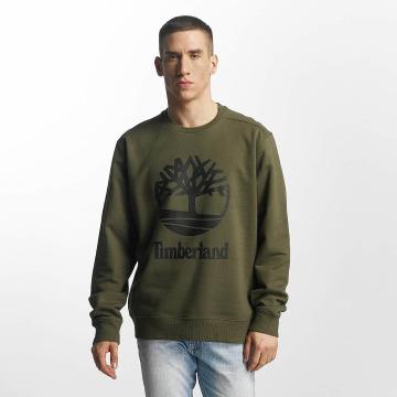 Timberland Пуловер Stacked оливковый
