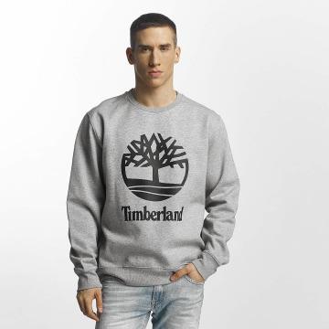 Timberland Пуловер Stacked серый