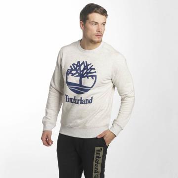 Timberland Пуловер Stacked Logo серый