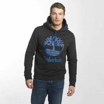 Timberland Bluzy z kapturem Stacked Logo czarny