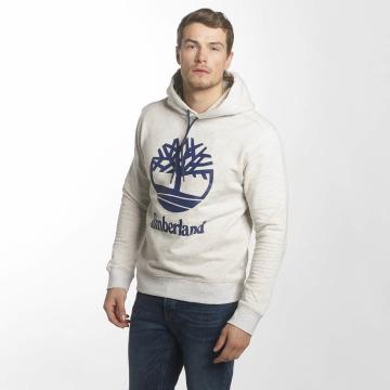 Timberland Bluzy z kapturem Stacked Logo szary