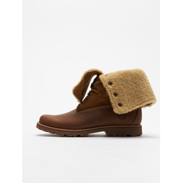 Timberland Boots Authentics 6 In Shearling brown