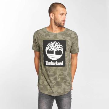 Timberland Camiseta Camo Logo camuflaje
