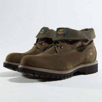 Timberland Chaussures montantes Roll Top F/F AF brun