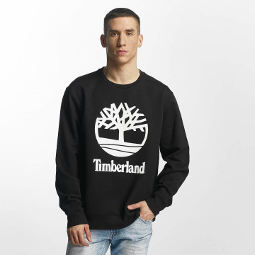 Timberland Jersey Stacked Logo negro