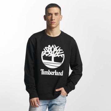 Timberland Maglia Stacked Logo nero
