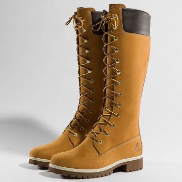 Timberland Stivale Premium 14 Inch Waterproof beige