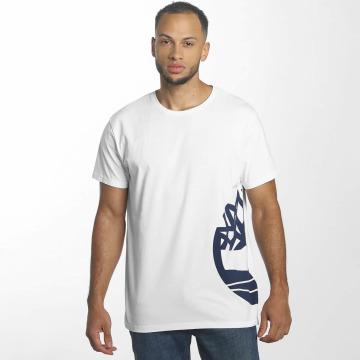Timberland T-Shirt Multigraphic blanc