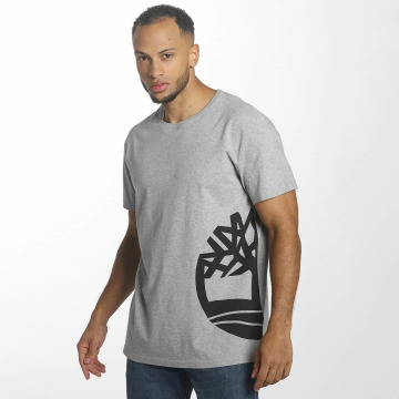 Timberland T-Shirt Multigraphic grau