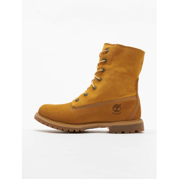 Timberland Vapaa-ajan kengät Authentics Teddy Fleece Waterproof beige