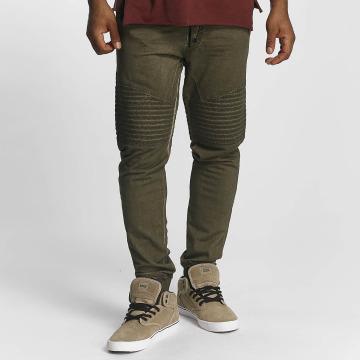 trueprodigy Спортивные брюки Stiched оливковый